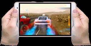 LINEモバイルのファーウエイMedia Pad T2 7.0 Proなら、フルハイビジョンの高解像度液晶にサクサク動作が可能。端末は24800円(税別)で月額利用料は500円から。